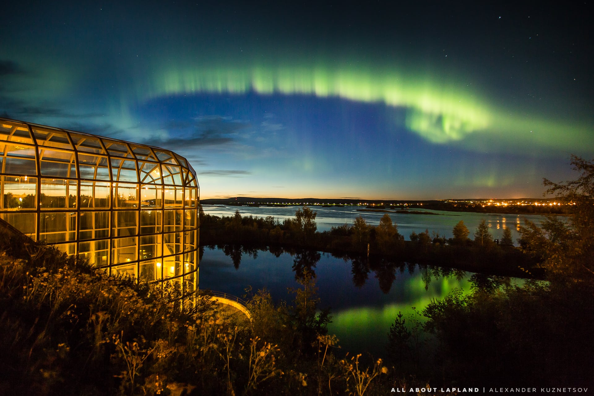 Best places to see northern lights in Rovaniemi