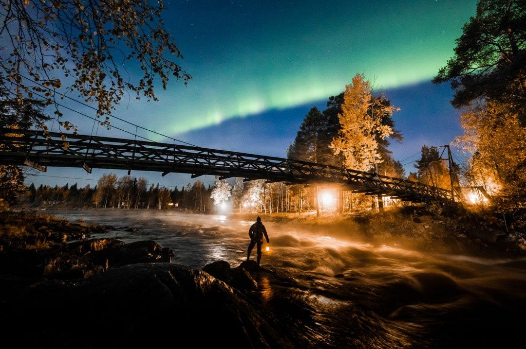 Aurora Borealis in Rovaniemi, Lapland