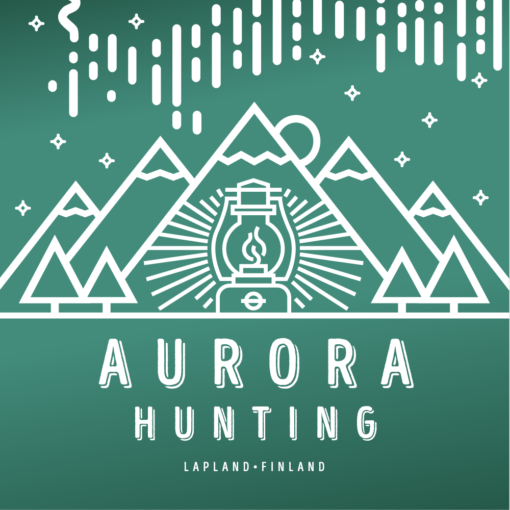 Aurora hunting in Lapland Finland
