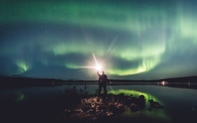 September is the best month to see the northern lights!